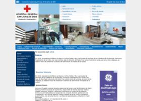 hospitalsanjuandediosguatemala.com