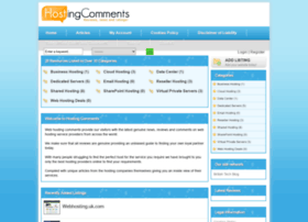hostingcomments.com