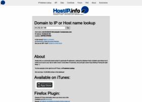 Hostip.info