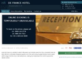 hotel-de-france-brussels.h-rsv.com