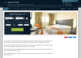 hotel-h2-avila.h-rez.com