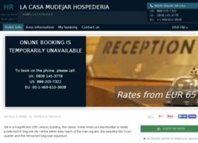 hotel-la-casa-mudejar.h-rez.com