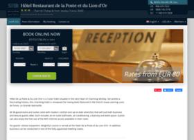 hotel-la-poste-lion-dor.h-rez.com