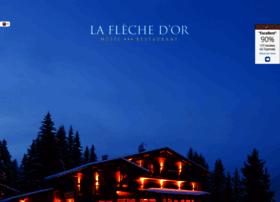 hotel-laflechedor.com