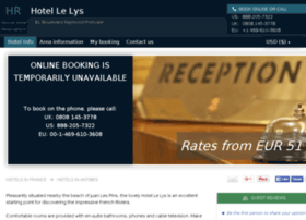 hotel-le-lys-juan-pins.h-rez.com