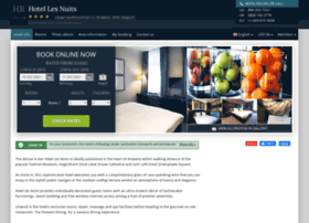 hotel-les-nuits-antwerp.h-rez.com