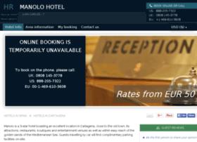 hotel-manolo-cartagena.h-rez.com