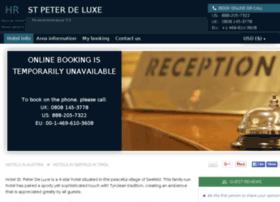 hotel-st-peter-de-luxe.h-rez.com