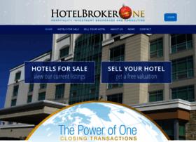 hotelbrokerone.com