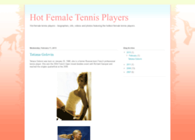 hotfemaletennisplayers.blogspot.com