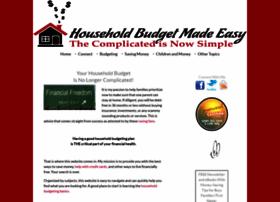 household-budget-made-easy.com