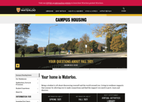 housing.uwaterloo.ca