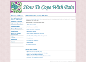 howtocopewithpain.org