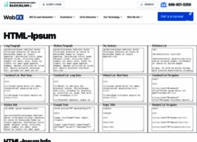 html-ipsum.com