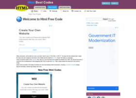 htmlfreecodes.com