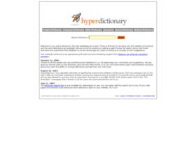 Hyperdictionary.com