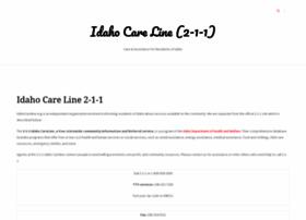 idahocareline.org