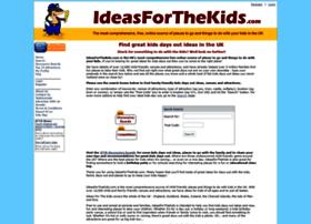 Ideasforthekids.co.uk