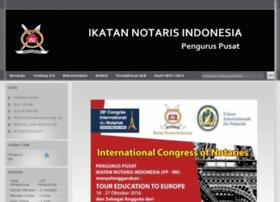 Ikatannotarisindonesia.or.id