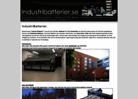 Industribatterier.se