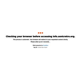 info.sonicretro.org