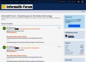 informatik-forum.at