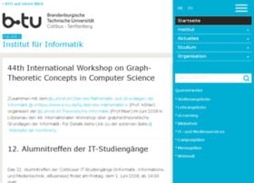 informatik.tu-cottbus.de
