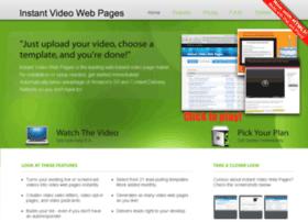instantvideowebpages.com