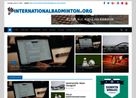 internationalbadminton.org