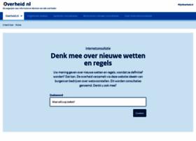 internetconsultatie.overheid.nl
