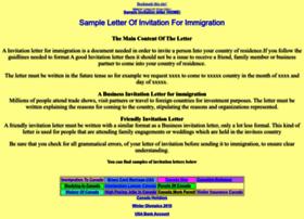 invitationletter.net