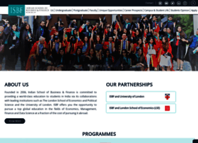 Isbf.edu.in