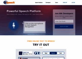 Ispeech.org