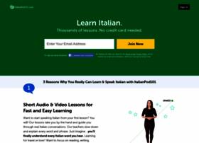 italianpod101.com