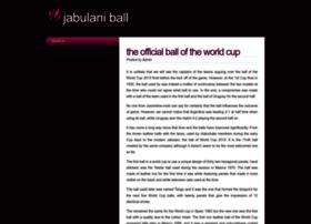 jabulaniball.com