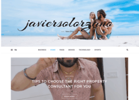 javiersolorzano.com