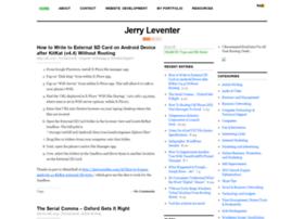 jerryleventer.com