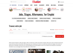 Jobs-stages.letudiant.fr