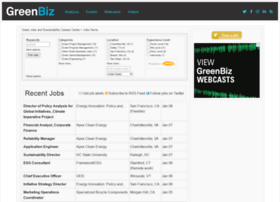 Jobs.greenbiz.com