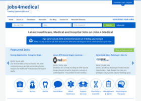 Jobs4medical.co.uk