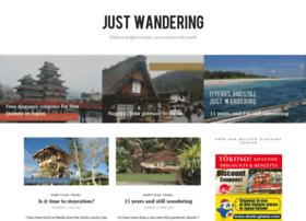 justwandering.org