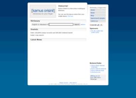 kamus.orisinil.com