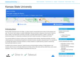 kansas.stateuniversity.com