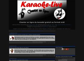 karaoke-live-paroles.com