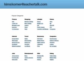 kimskorner4teachertalk.com
