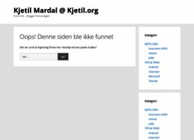 kjetil.org