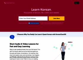 koreanclass101.com
