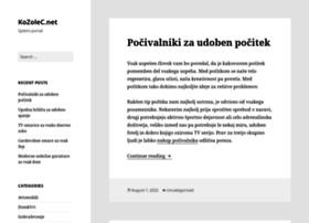 kozolec.net