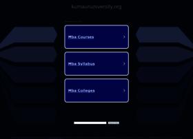 kumaununiversity.org