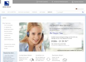 Kundenservice.bauerverlag.de